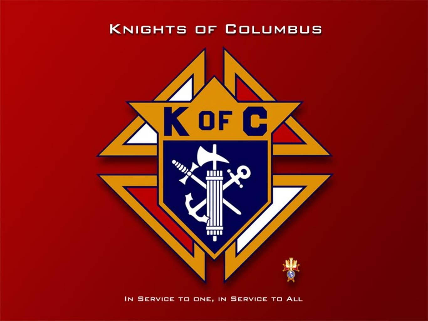 135th Anniversary of the Founding of the Knights of Columbus
