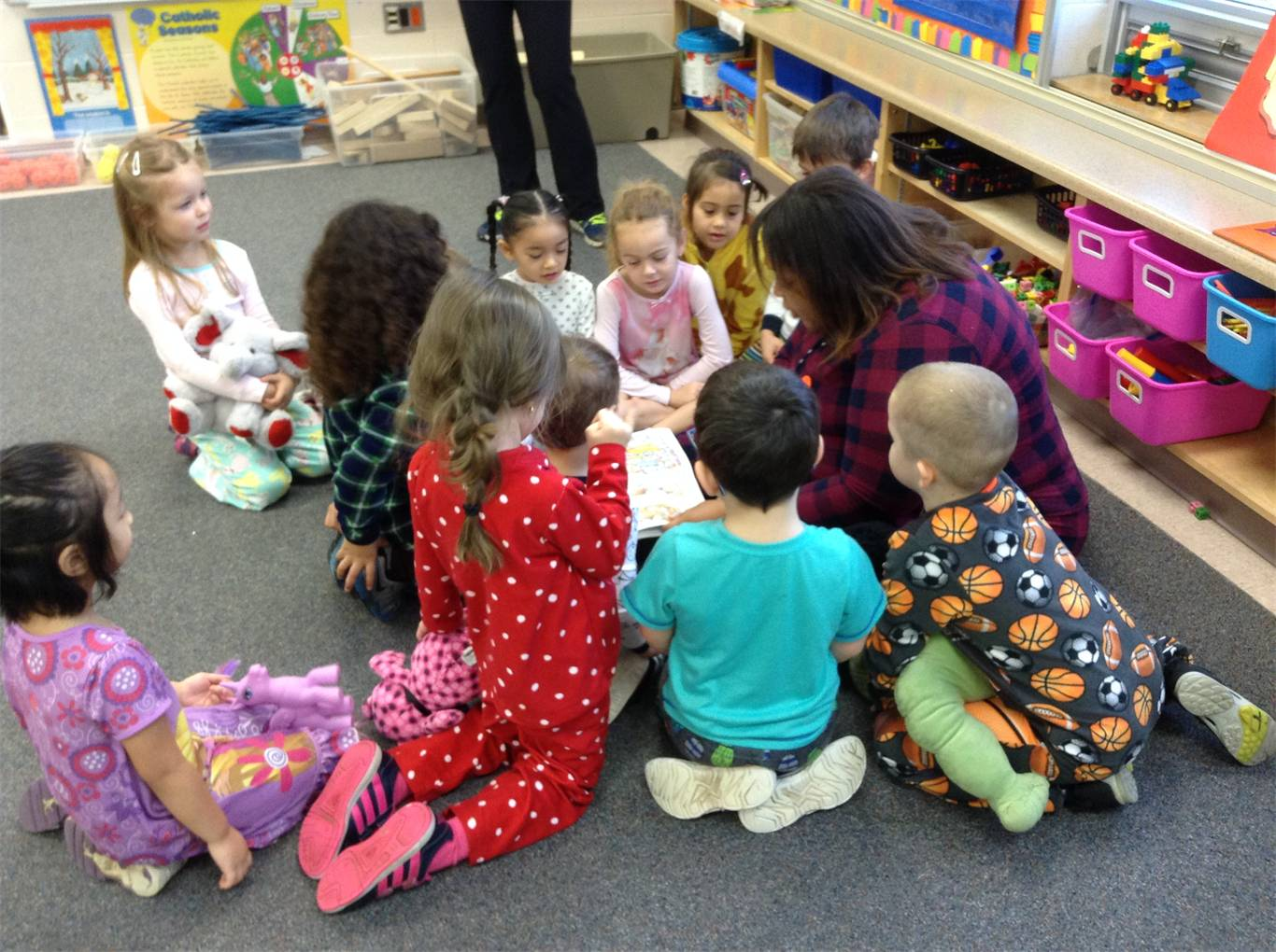 Snuggle Up and Read Day a Big Success!