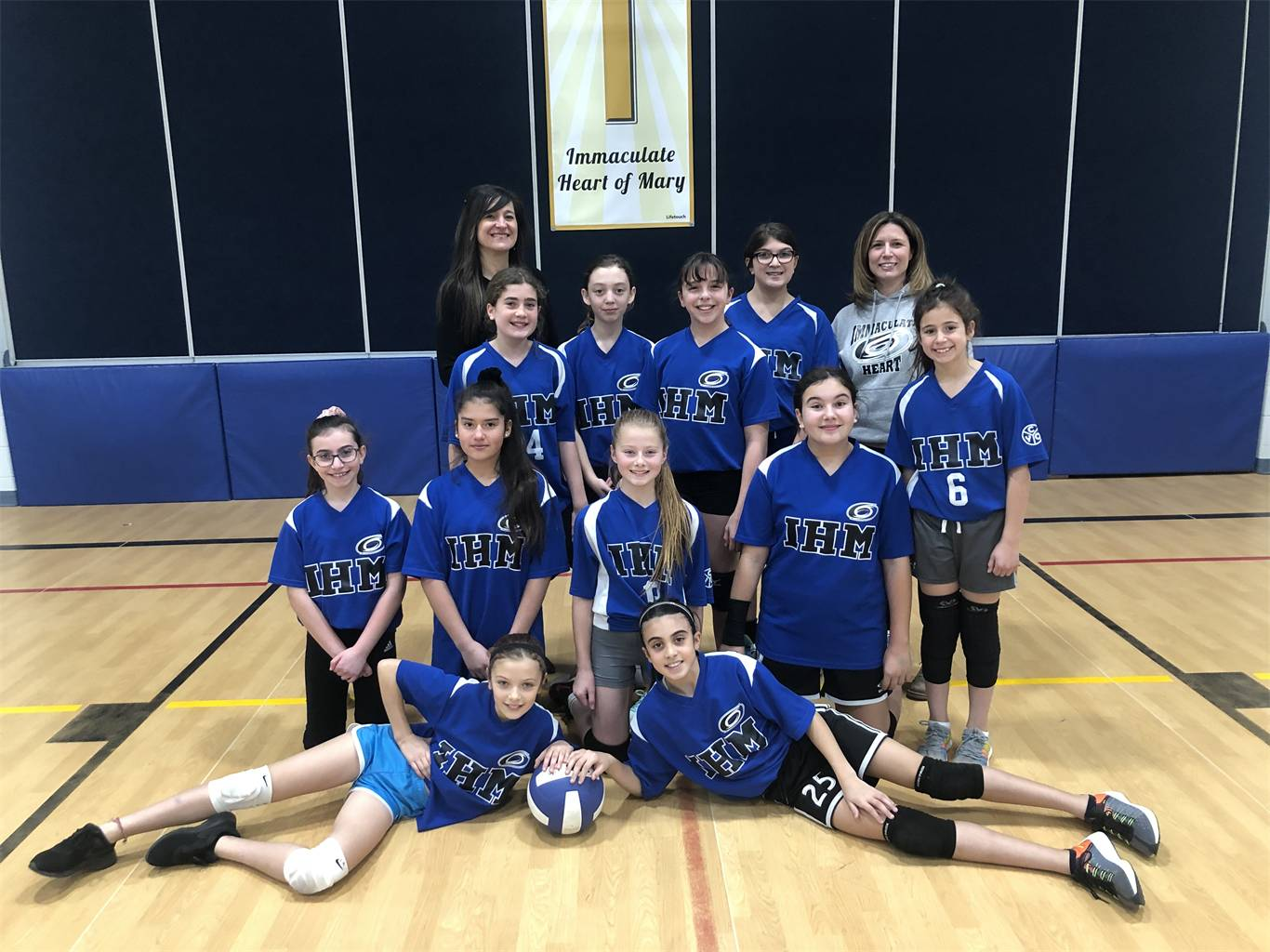 Jr Girls Volleyball Team-updated Feb 19th